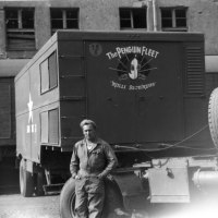 "UPDATED POST - WWII Refrigeration Truck Unit Photos - ""The Penguin Fleet"" Blood and Plasma Transfer Trucks"