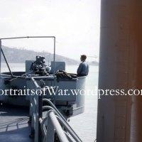 Korean War Color Photo Slides - USS Okanogan APA 220 - Evacuation of Chinnampo