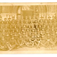 The University of Vermont at War - Draftees in 1918 - Williams Hall at UVM