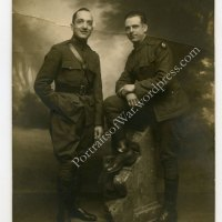 WWI Photo - Super Rare 3rd Air Park Patch Photo in Vichy France
