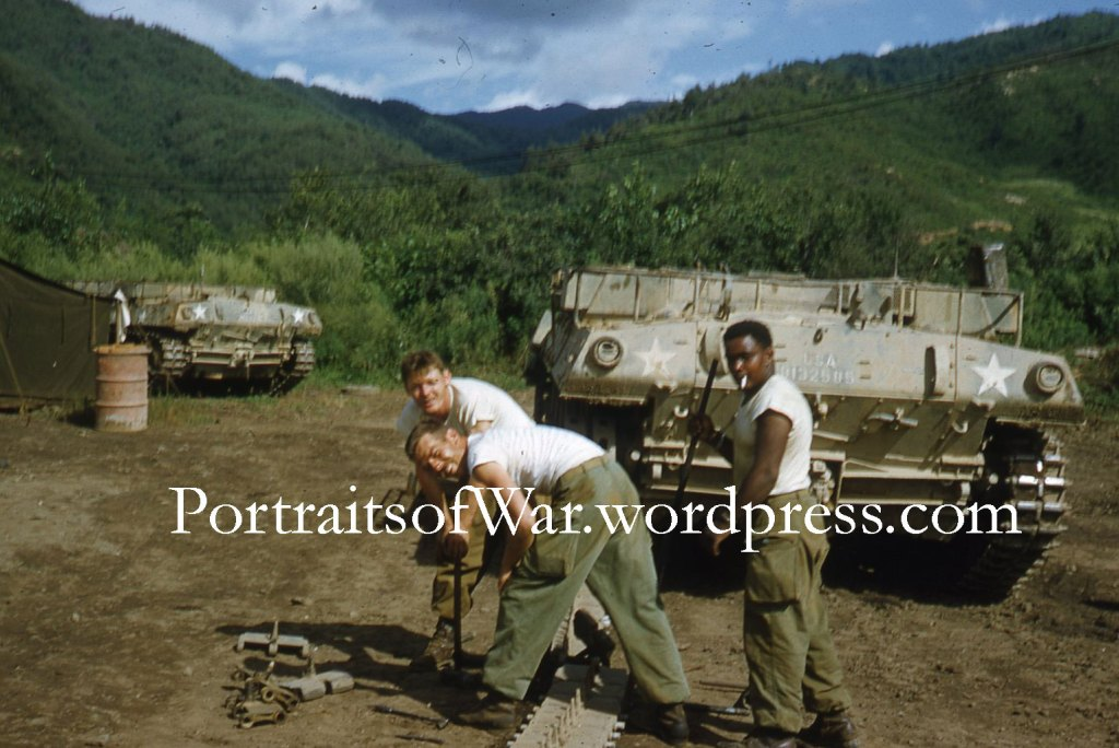 Korean War Tanks and Armor in Color - 40th Division