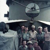 WWII Wartime Color Kodachrome Slide Photos - PTO Landing Craft Grouping!  LCI Flotilla 3