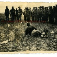 """WWII 1st Division """"Big Red One"""" 16th Infantry Regiment Wartime Photo Grouping - German Escapee Shot in Leg"""