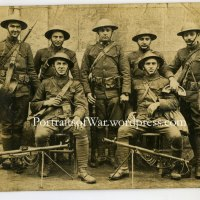 WWI Photo - 2nd Division Doughboys in Vichy, France - 1917 Trench Knives and ChauChaut Machine Guns!