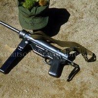 Original Korean War Color Slide Photo - M3 Grease Gun from St. Paul, Minnesota Veteran