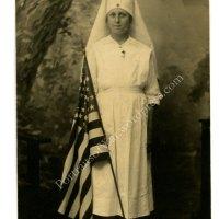WWI Nurse Photo Postcard Collection  - American Red Cross Nurses in 1918