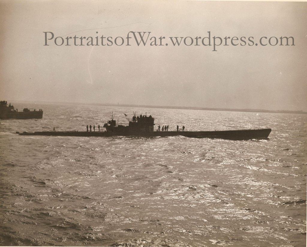 Captured German U-Boats in Portsmouth, New Hampshire - May 1945