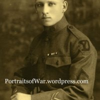WWI 26th Yankee Division Seated Portrait Photo