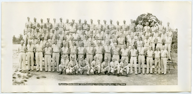 272nd Medical Detachment, 69th Division I have the identities of the men in the photos - please ask for specifics