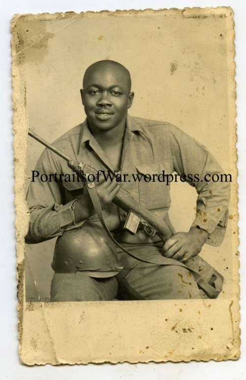 Black Soldier w/ M1 Carbine