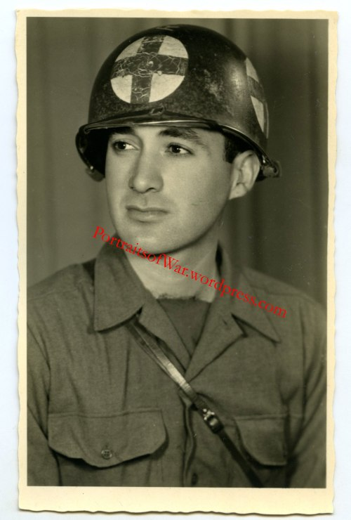 Unknown US Medic w/ M1 Quad Panel Helmet