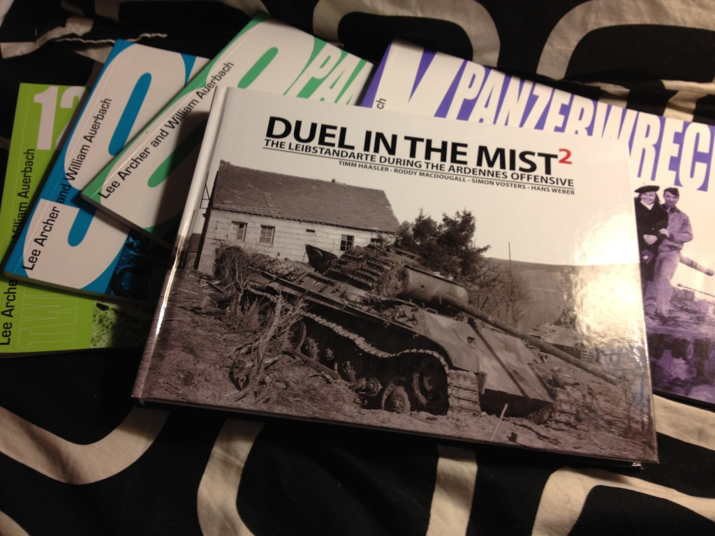 PortraitsofWar Book Review #1: Panzerwrecks' Duel in the Mist 2: Leibstandarte During the Ardennes Offensive