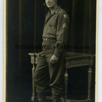 WWII 9th Air Force Portrait Photo - Ervin G. Collins of Pawtucket, Rhode Island