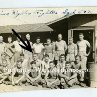 WWII 542nd Marine Night Fighter Photo Album - Newly Identified Marine Cpl. Anthony Reviello of Rutherford, NJ