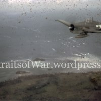 WWII in Color: Invasion of Guam, July 1944 Caught on Film in Color from the Skies Over Guam