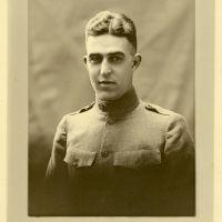 WWI Burlington, VT Portrait Photo - William W. Putnam 310th Cav. Fort Ethan Allen