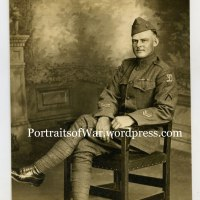 "WWI 26th Division Photo Identified - Leo Hayden of Natick, MA, Company L, 101st Infantry, 26th ""Yankee Division"""