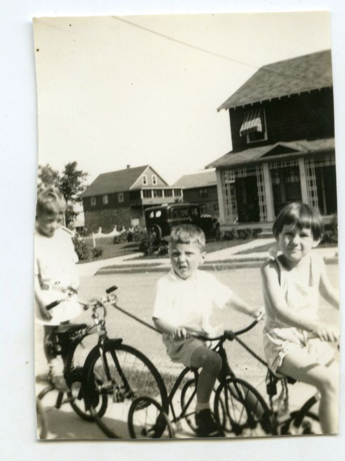 Cruising the mean streets of Burlington in 1936