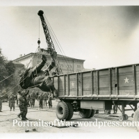 WWII Photo: The Long Journey of the Isted Lion -  Returned to Berlin After 65 Years