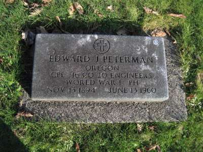 Mr. Peterman's Grave