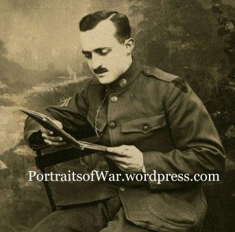 Harold Dannhorn Reads a Book in France