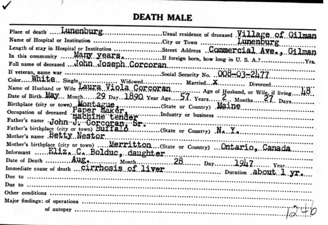 Death Registration