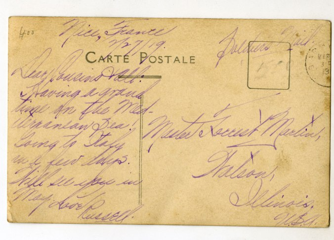 Backside of the RPPC