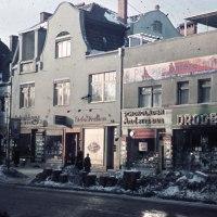 WWII Color Slide - Berlin Street Scene Reshot 68 Years Later!