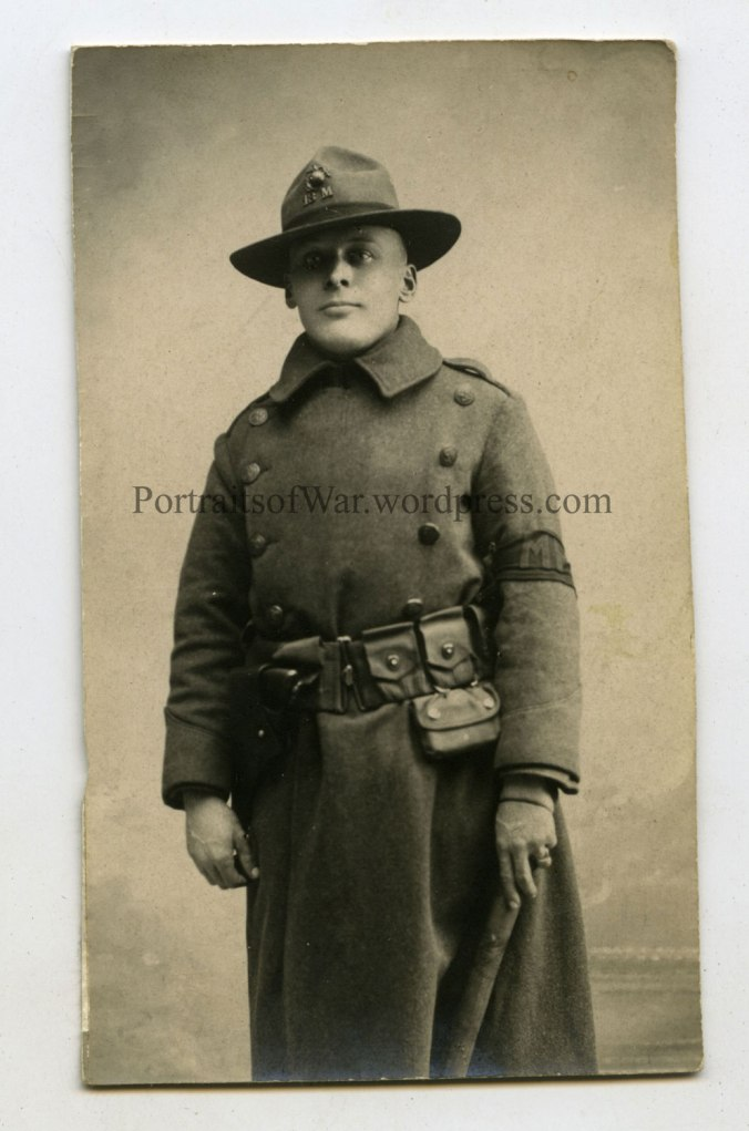 Evald A. Johnson in France 1918
