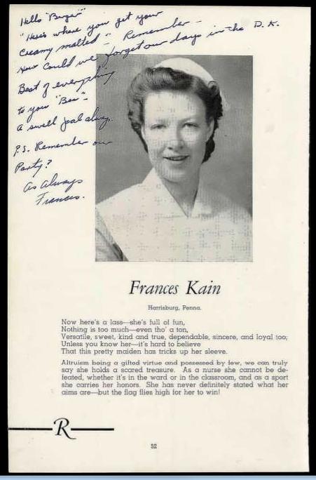 Frances M. Kain