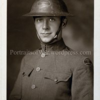 WWI Photo Identification: Mortimer G. Thompson of Knoxville, TN 117th Infantry, 30th Division