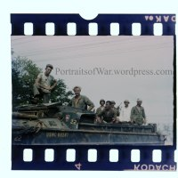 WWII in Color - Rare Marine USMC DUKW Boat in Color!  Saipan Quack Corps 35mm Color Slides