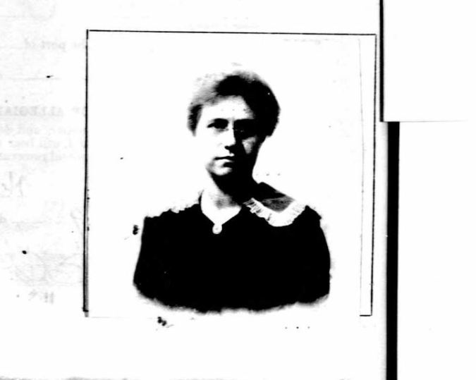 1917 Passport Photo of Helen