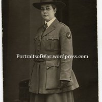 WWI Photo Identification - Wartime Librarian Mary Josephine Booth, ALA in Germany