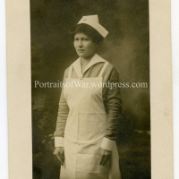 WWI Red Cross Nurse Photo Identification - Miss Ella Kettels/Voged Describes Wartime Hospitals