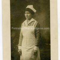 WWI Red Cross Nurse Photo Identification - Miss Ella Kettels/Voged Describes Wartime Hospitals