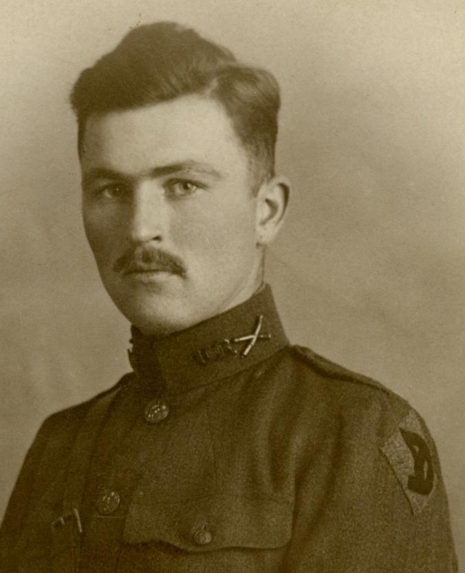 Fritz Draper Hurd in 1918