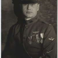 "WWI Photo - Intense Research Yields an Identified US Pilot in Italy - One of ""Fiorello's Fogianni"""