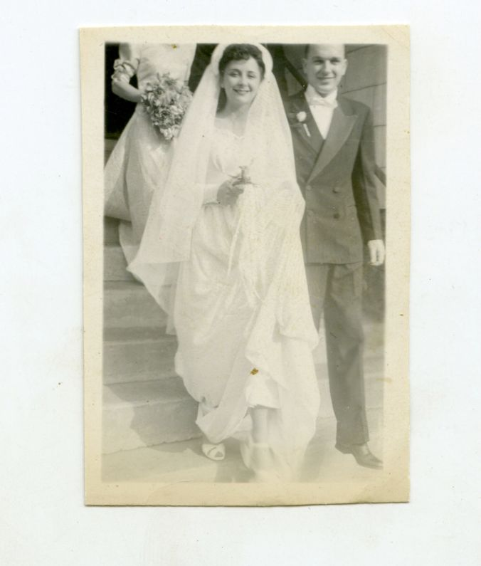 Helen and Paul Marriage day 1946