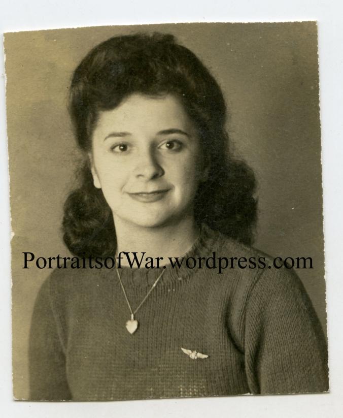 """Helen Wearing """"Sweetheart"""" Navy Wings"""