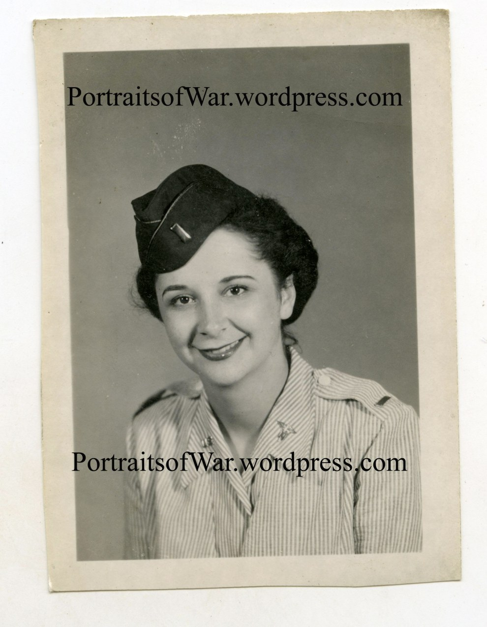 Helen as a Nurse in WWII