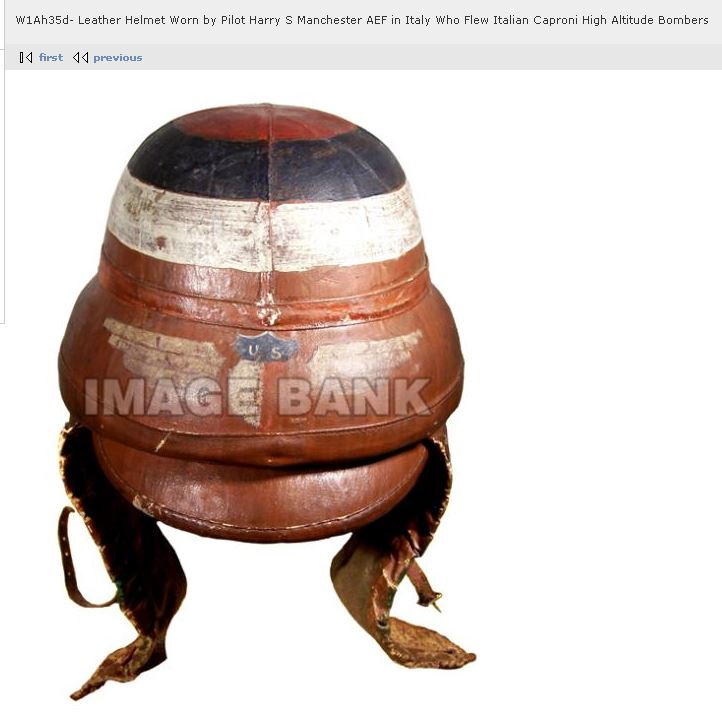 Harry's WWI Flight Helmet