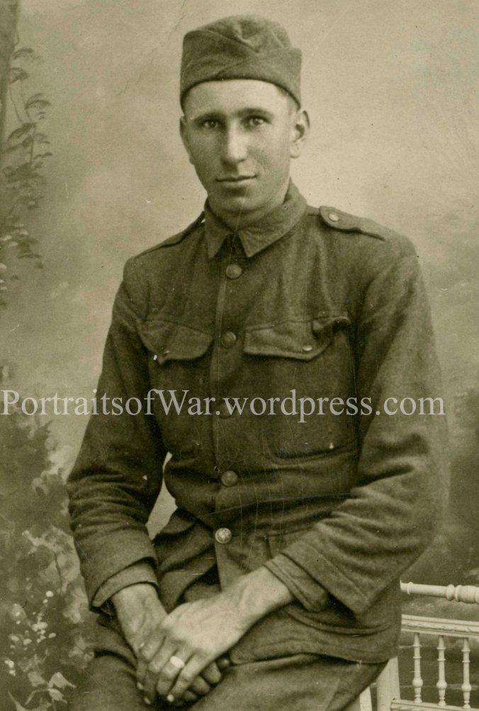 Ed Prochaska ca. 1918  France