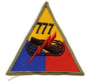 777th Reproduction WWII Patch