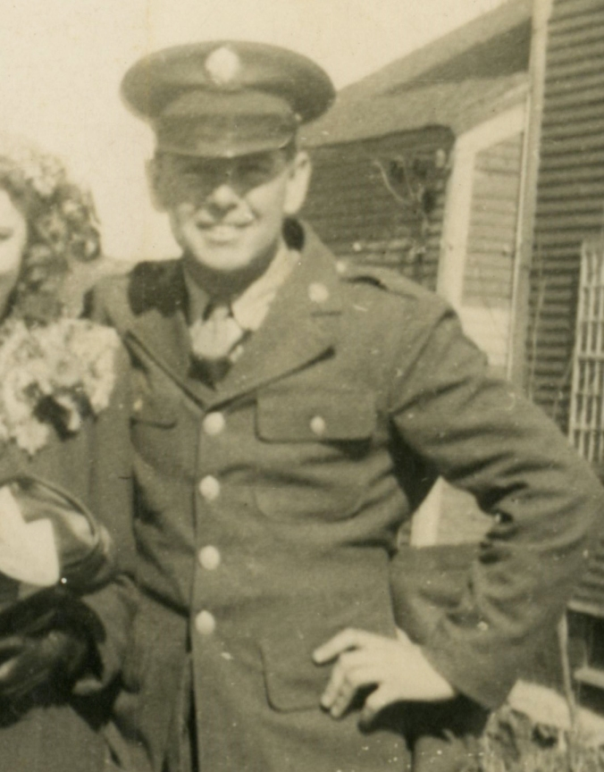 Ambrose on Furlough, 1944