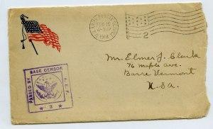 Edward Clark  Letter Cover