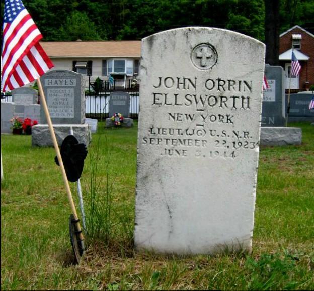 John's Stateside Grave Marker
