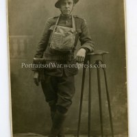 WWI Photo - Perfectly Posed American Doughboy in Germany, 1919