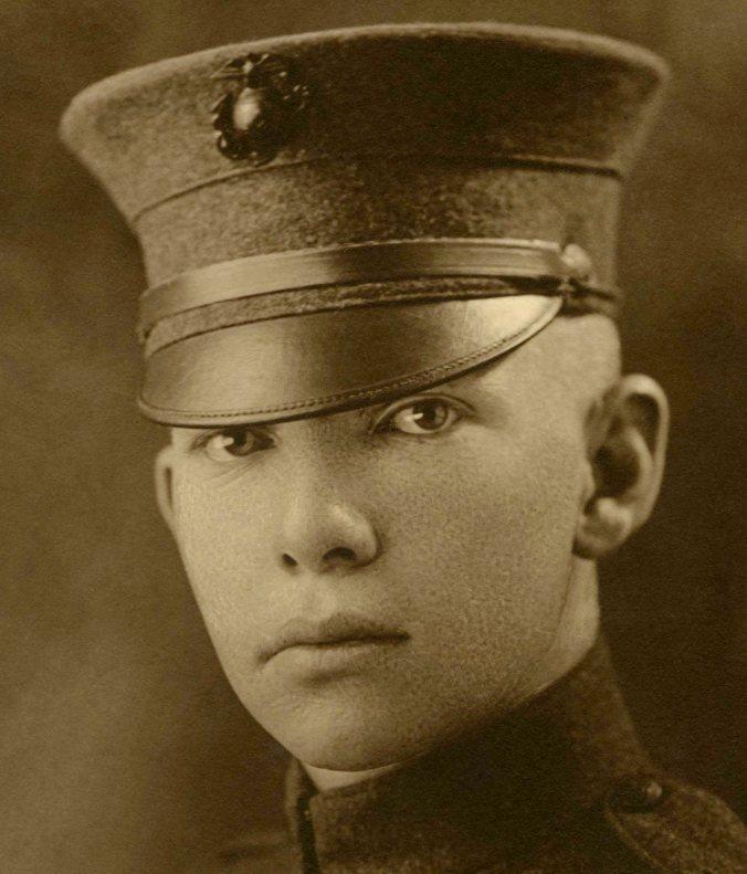 Paris Marine Headshot