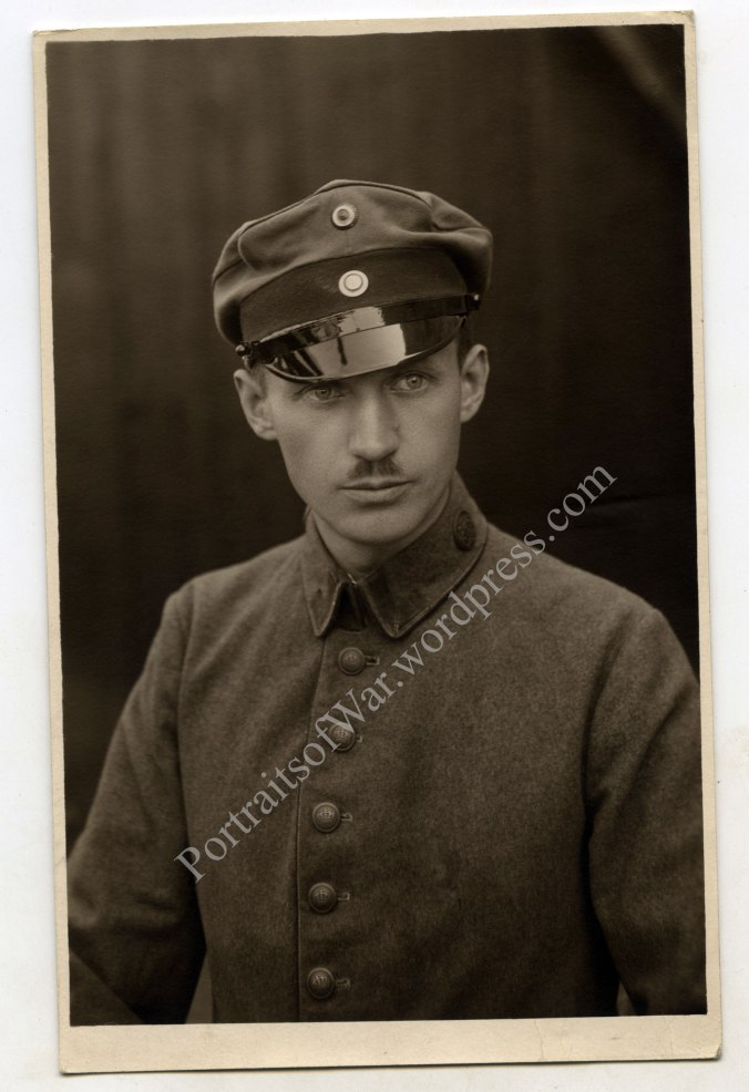 Unteroffizier Grießbach as a POW in France